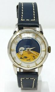 Orologio-Sorna-moon-watch-mechanical-clock-mod-dep-int-lem-very-rare-horloge