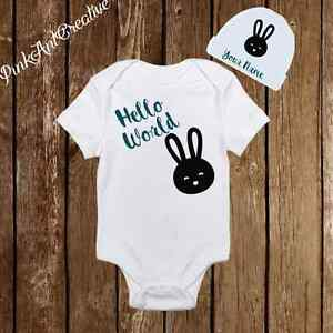 944df336c Image is loading Personalized-Name-Cute-Baby-Girl-Clothes-Onesies-with-