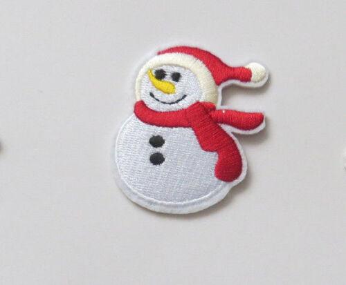 Arte De Navidad pequeño logotipo bordado Hierro En Parche Bordado Insignia Bordados