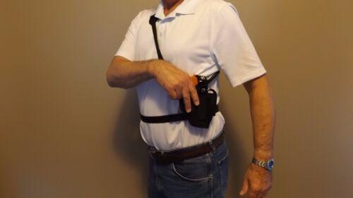 LEFT Hand Draw Bandoleer Shoulder CHEST Holster TAURUS PT 111 Gen 2 9mm ..USA