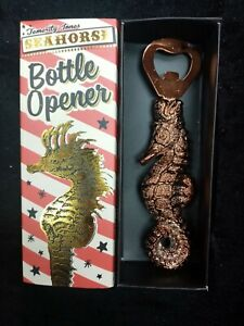 Seahorse and Palm Trees Bottle Openers Tropical Beach Ocean Decor