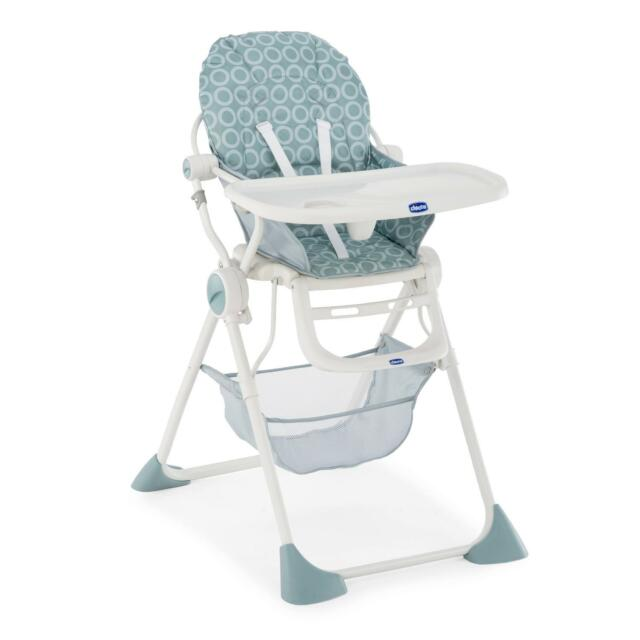 MOONLIGHT 3 position reclining To 15kg CHICCO POCKET LUNCH FOLDING HIGH CHAIR