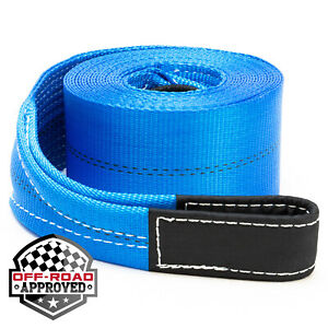 4-034-x-30-039-Heavy-Duty-Recovery-Winch-Tow-Loop-Strap-4x4-Rope-Chain-Towing-Tow