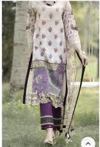 Clothing, Shoes & Accessories Original Almirah Readymade Pakistani Designer Suit Large Size 3 Piece New Ladies