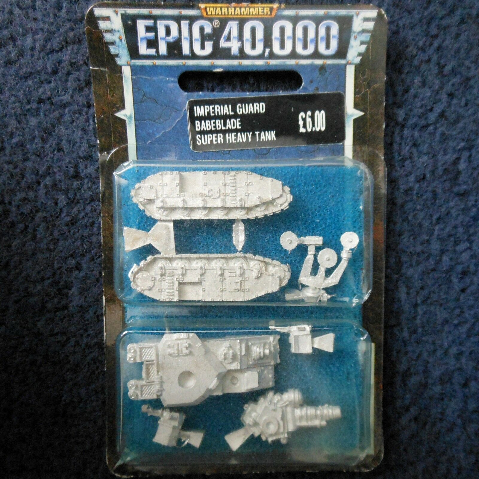 1998 Epic Imperial Guard Baneblade Super Heavy Tank Citadel Warhammer 40K MIB GW