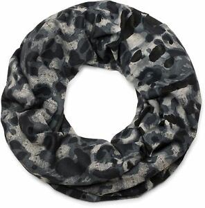 styleBREAKER Sciarpa a tubo in fantasia mimetica look usato distrutto foulard sciarpa scaldacollo unisex 01016134