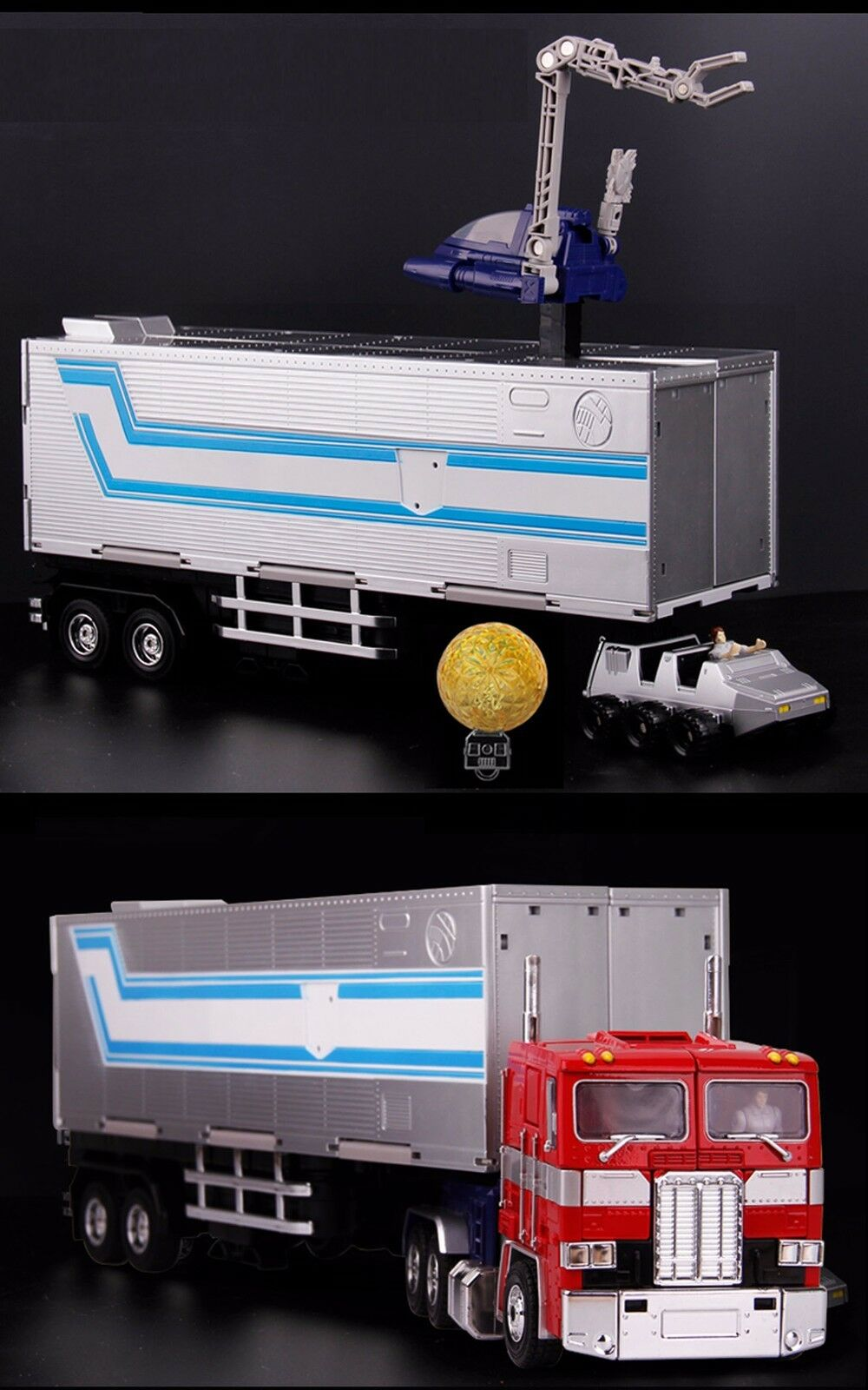 MPP10 WEIJIANG Trailer OP Commander Action Figure Transformers Optimus Prime NEU
