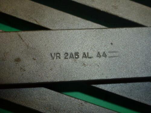 """NOS! 6 VR//WESSON AL-44 2A5 TOOL BITS CARBIDE TIPPED 1/"""" x 1//2/"""" x 7/"""""""