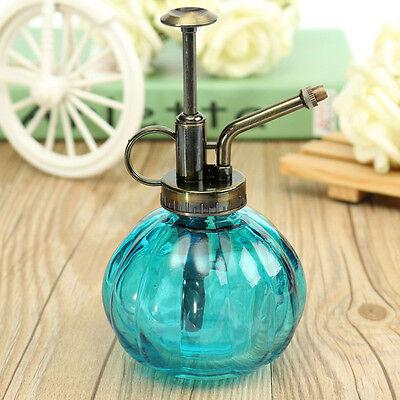 Retro Antique Glass Plant Flower  Pot Spray Bottle Garden Mister Sprayer