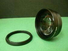 KAT BK 43mm 2.0X Telephoto Tele Lens + Adapter Ring For Panasonic HDC SD90 TM90