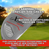 1 Pga Chipper Putter Wedge Club True Temper Professionally Assembled For Ladies