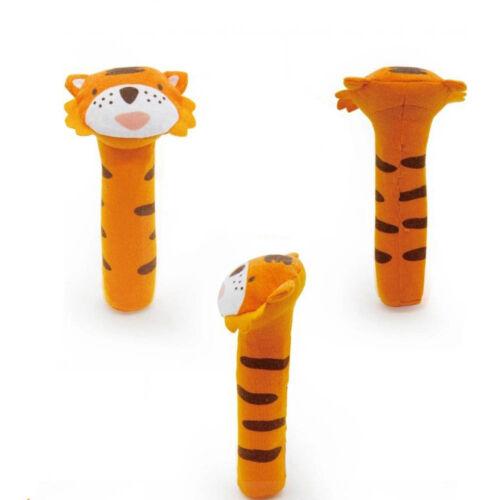 Baby Kids Developmental Toys Animal Soft Stuffed Plush Toys Rattles Infant Toys