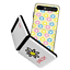 thumbnail 1 - For Galaxy Z Flip Case, Bumper Case Flower Pattern Shockproof Thin Fit Cover