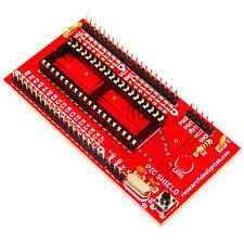 PIC mini Project Board  Red  Microchip's 40 pin PIC microcontrollers