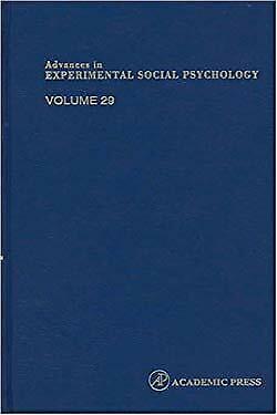 Advances in Experimental Social Psychology by Zanna, Mark P.