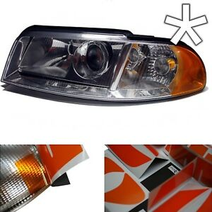 US-Design-Folie-Audi-A4-B5-Facelift-Blinker-Scheinwerfer-Style-Folie-gelborange