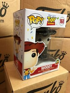 Funko POP! Disney Toy Story WOODY Black & White Exclusive & Protector