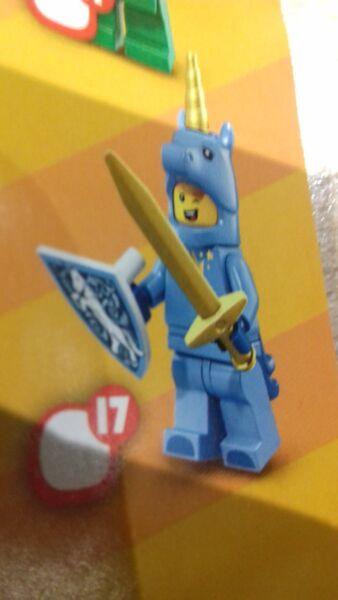 Lego Series 18 Licorne Unicorn Guy Mini Figure Collection