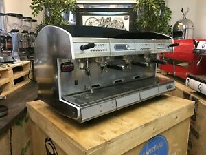 WEGA-CONCEPT-3-GROUP-RED-ESPRESSO-COFFEE-MACHINE-COMMERCIAL-CAFE-BARISTA-CUP