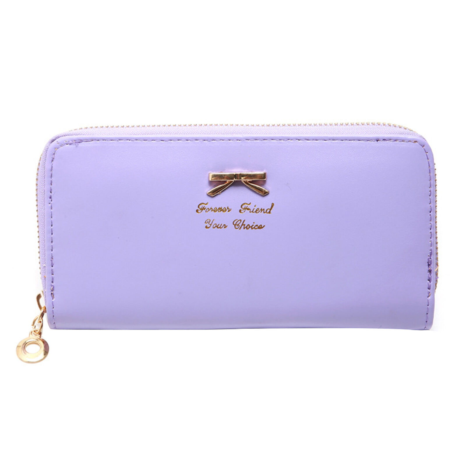 Long Section Practical Card Holder Cute Bow Durable Gift Women Wallet PU Leather