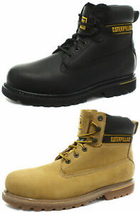 Caterpillar-CAT-Holton-Mens-Steel-Toe-Safety-Boots-ALL-SIZES-AND-COLOURS
