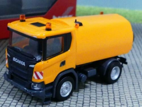 1//87 Herpa Scania CG 17 Kehrfahrzeug kommunalorange 310888