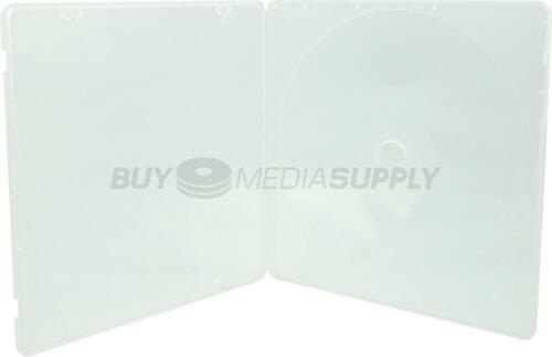 5mm Slimline Clear 1 Disc CD//DVD PP Poly Case