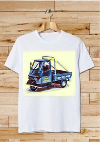 00228 uomo donna  SKU T-Shirt Maglietta divertente Ryanair Travel low cost