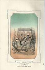 1863 ASSASSINIO COSTANTE II SIRACUSA litograf. Pagnoni Constans II Imp bizantino