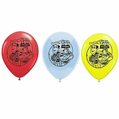 """6 X 12/"""" Toy Story Latex Ballons Fête Décoration-Fête D/'Anniversaire"""