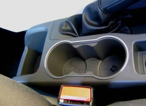 Edelstahl poliert  Focus MK 2 D Ford Focus MK2 Chrom Rahmen für Getränkehalter