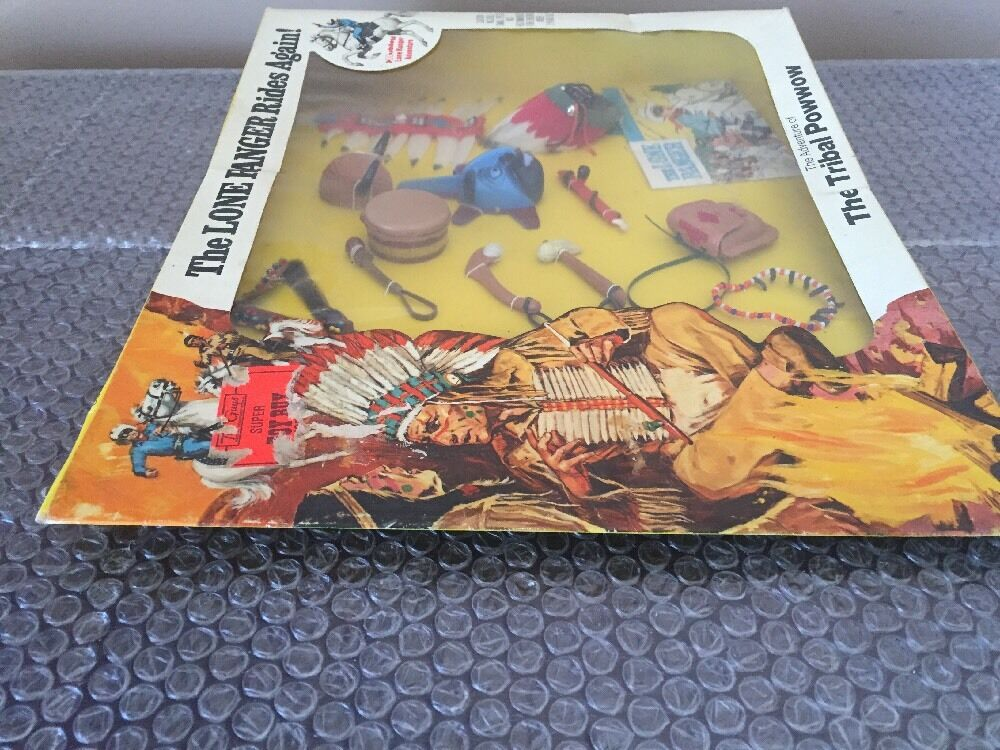Vtg 1973 MOC Hubley The Lone Ranger Rides Again The The The Tribal Powwow 642a18
