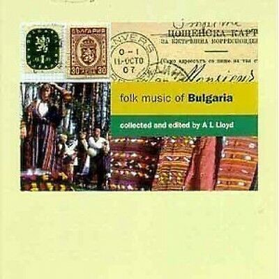 Folk Music Of Bulgaria CD NEW SEALED 1994 World Music
