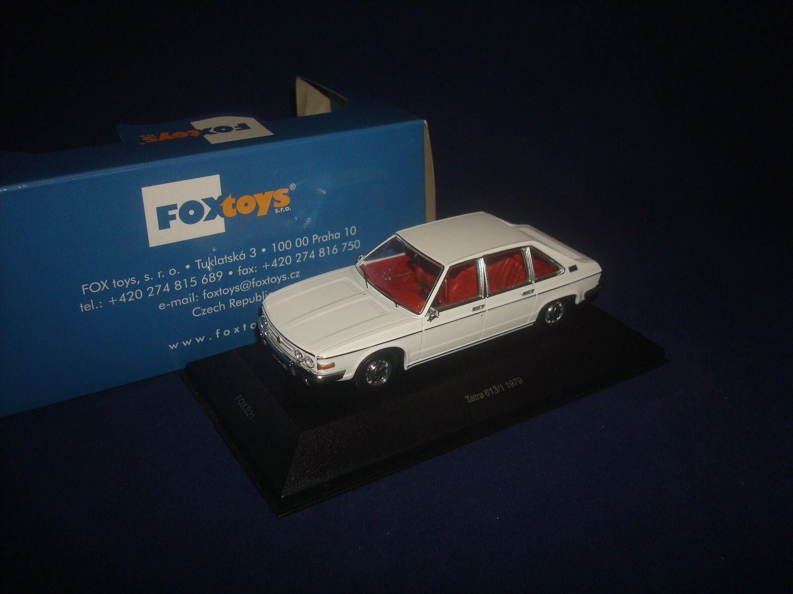 RARE  Tatra 613 1 1979 FOXtoys FOX021 1 43