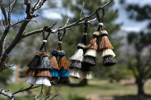 4-034-Small-3-Bell-Mule-Tail-Cut-Horsehair-Double-Tassels-Naturals-amp-Brights