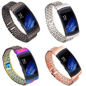 Stainless-Steel-Bracelet-Watch-Band-Wrist-Strap-For-Samsung-Galaxy-Gear-Fit-2