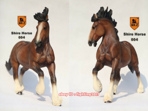 1//6 Mr.Z Resin Statue Animal Series 20/'/' Shire Horse In Stock Large Size Model