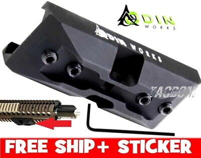 Odin Works P-Pod Low-Profile Harris BiPod Adapter Mount for 1913 Picatinny Rail