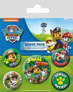 5 Piece Paw Patrol Brand New Green Gift Jungle Design Stationery Set