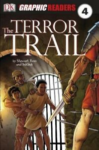 Very-Good-Paperback-The-Terror-Trail-Graphic-Readers-Level-4-Ross-Stewart