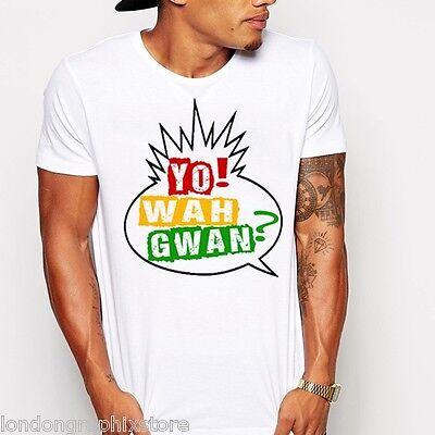 U.S Wah Gwan tank Jamaican Flag King Tubby Yellowman reggae T shirt Flag