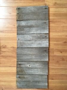 Antique rustic 5quot x 12quot barn wood siding weathered old for Barnwood siding prices
