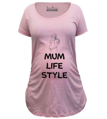 Pregnancy Shirts Maternity shirts Top Tunic Clothes Mum Life Style Expecting Mum