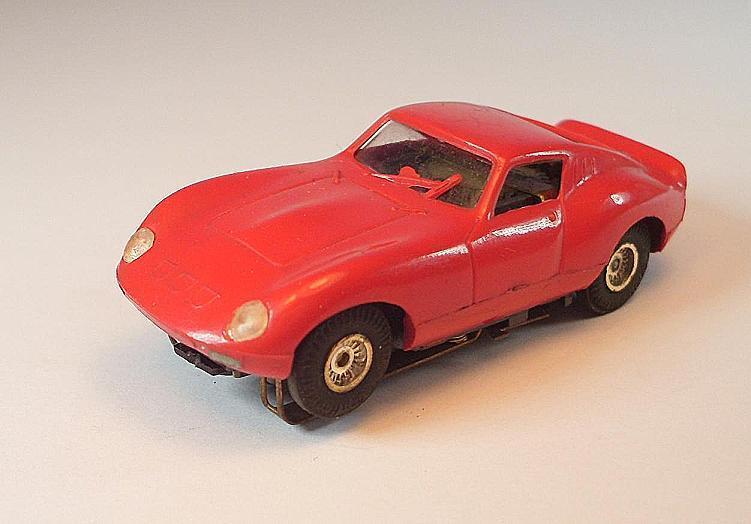 Slot Car Faller AMS Nr. 5636 Ferrari GT Typ 2 rot Flachankermotor Nr. 1  875