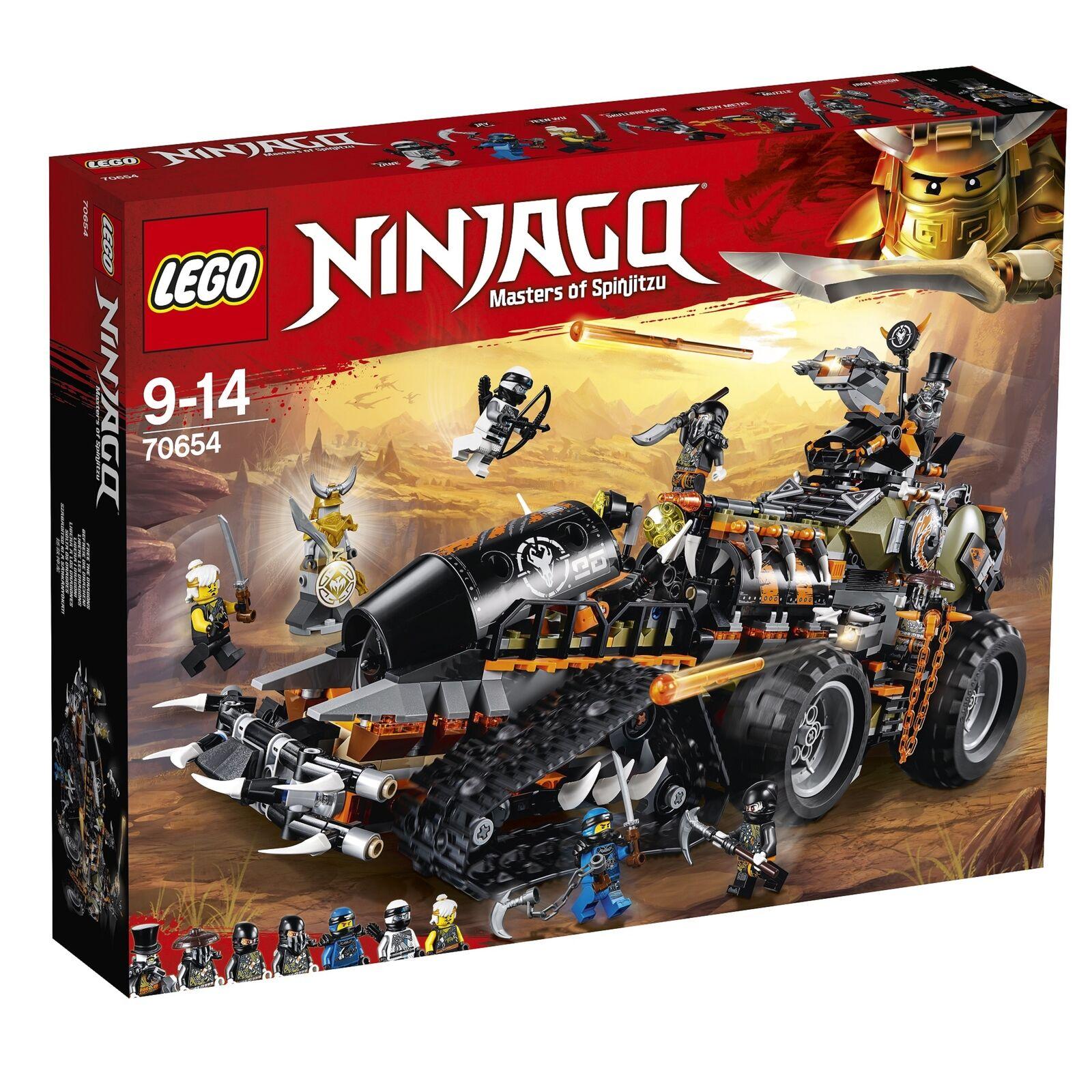 Lego Ninjago dieselnaut (70654) - NEUF