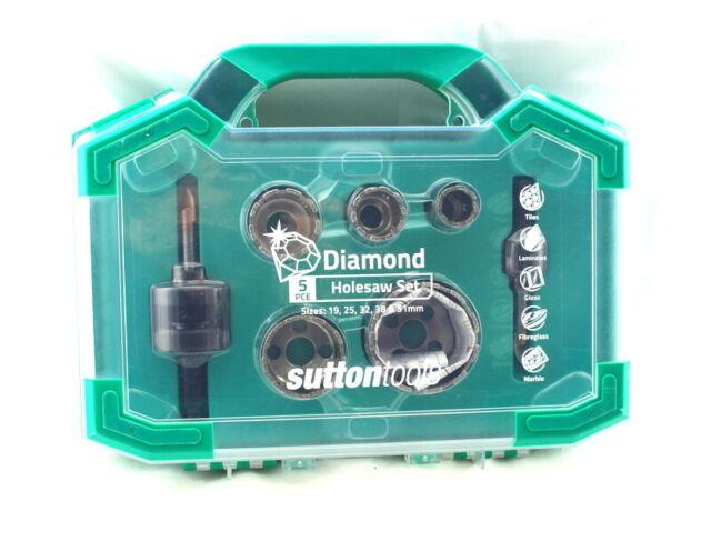 Sutton Tools Holesaw Set 5 Piece Diamond Cut-Out Slots H1150007