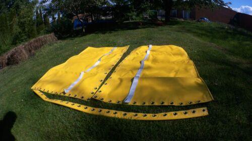 Yellow  Vinyl  trampoline for Hobie Cat 16