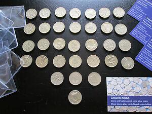RARE-Commemorative-UN-LIVRE-pieces-Rare-BRITISH-piece-de-monnaie-1983-2017