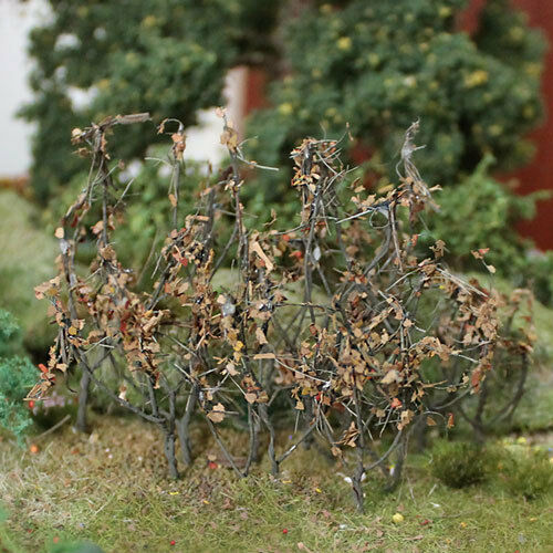 """MP SCENERY 50 Dry Leaves Branches 1-1//2/"""" to 3/"""" Architectural Foliage Railroad"""
