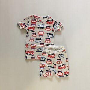 7c702ae885e3 Baby Gap Toddler Baby Boy s Short Sleeve Shirt Shorts Pajamas Set ...